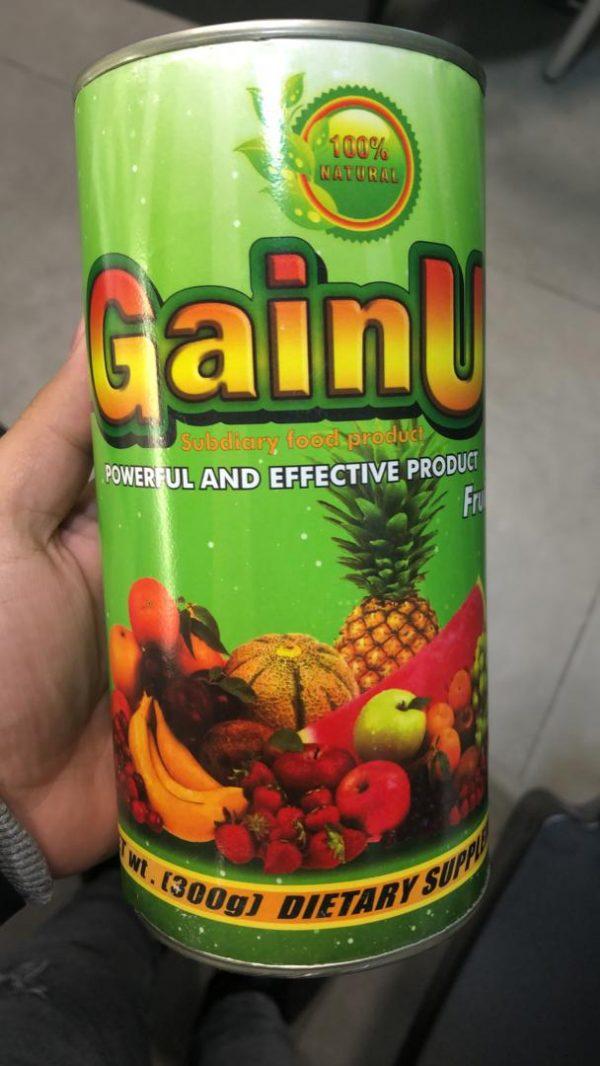 مکمل افرایش وزن گین اپ Gainup