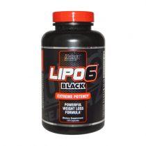 قرص لاغری لیپوسیکس ۶ بلک نوترکس (LIPO 6 BLACK)